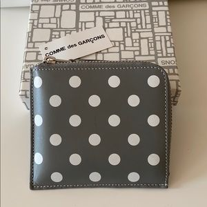 Comme des Garçons Wallet Polka Dots Printed